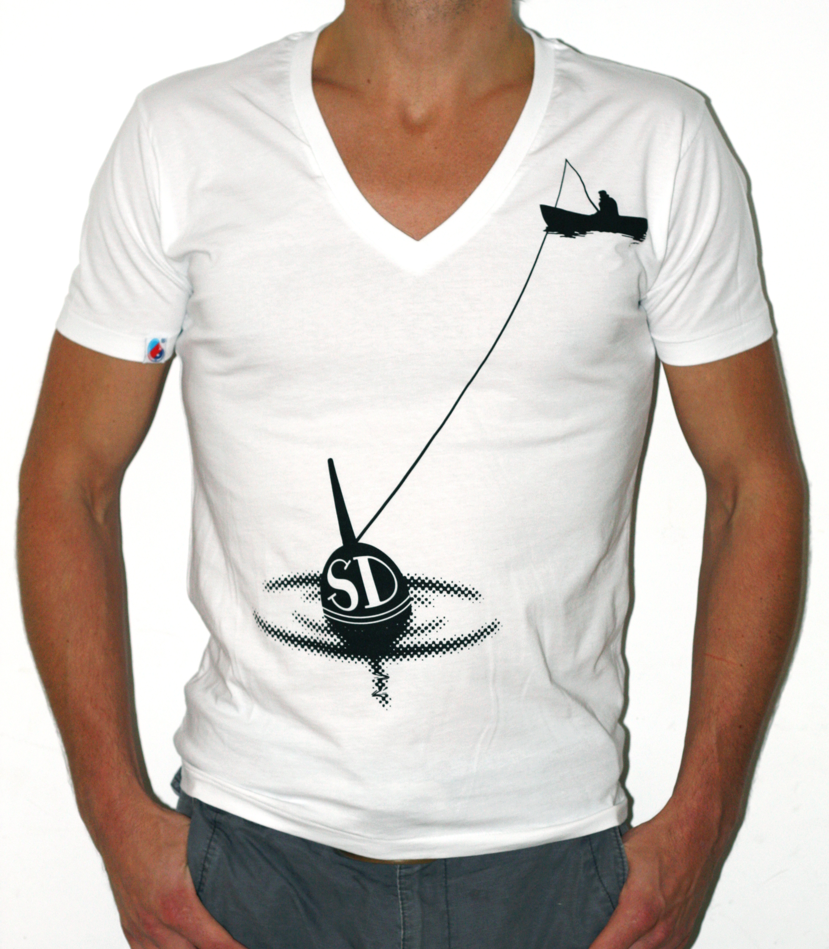The new shank and dillion shirt gone fishing for Fishing shirt designs